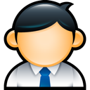 male, user, geek, man, suit, employee, administrator icon
