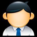male, user, geek, man, suit, employee, administrator icon