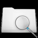 find, folder, white, search, seek icon