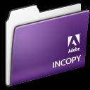 Adobe, Cs3., Folder, Incopy icon