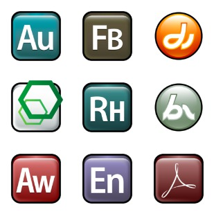 Adobe Family icon sets preview