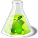 lime,apple icon