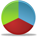 graph, pie, chart, analytics, statistics icon