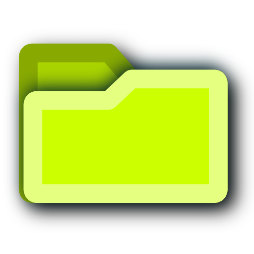tip, energy, folder, light, hint, green icon