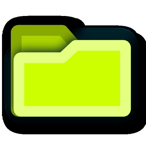 tip, energy, folder, light, hint, green icon
