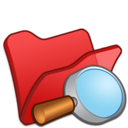 folder,red,explorer icon