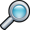 glass, magnifying icon