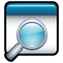 window, enlarge, magnifying class, magnifier, zoom in icon