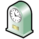 clock, time, alarm clock, history, alarm icon
