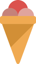sweet, icecream, cold, ice cream, cream, food, ice icon