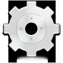wheel, gear, advanced icon