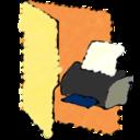 printer,folder icon