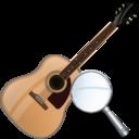 zoom, instrument, guitar icon