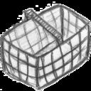 basket,empty,blank icon