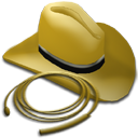 whip, and, hat icon