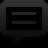 Line, Spechbubble, Sq icon