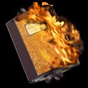 burnable, folder icon