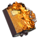 folder,burnable icon