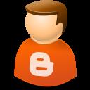 woman, blogger, user icon