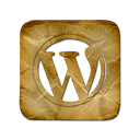 square, wordpress, logo icon