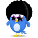 twitter,afro,socialnetwork icon