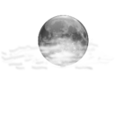 Status weather few clouds night icon