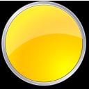 yellow, round, circle icon