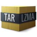 lzma, tar, application/x-, compressed icon