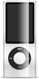 ipod,nano,white icon