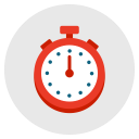 stopwatch, timepiece, speed, measure, timer, time icon
