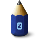 pen, photoshop, pencil icon