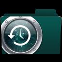 time machine, backup, folder icon