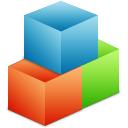 organize, modules, blocks, boxes icon