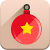 christmas toy, new year icon