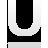font, underline icon