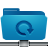 Backup, Blue, Folder, Remote icon