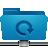 folder, blue, remote, backup icon