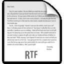 rtf, z, file icon