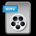 document, paper, wmv, video, file icon