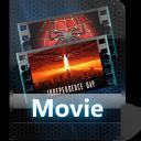 video, film, movie icon