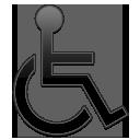Black, Handicap, Symbol icon