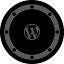 circle, rounded, blog, social, network, btn, site icon