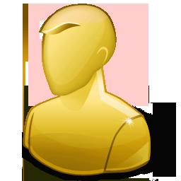 Account People Regular Profile Anonymous Human Yellow User Icon User Task Report Icon Sets Icon Ninja