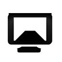 tv, television, alt icon
