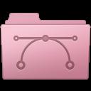 Folder, Sakura, Vector icon