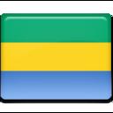 Gabon Flag icon