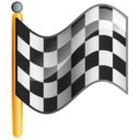 flag, checkered, goal icon