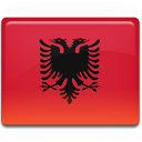 shqiperia, albania, country, flag icon