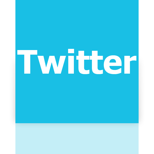 mirror, twitter icon