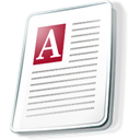 Acces, File icon